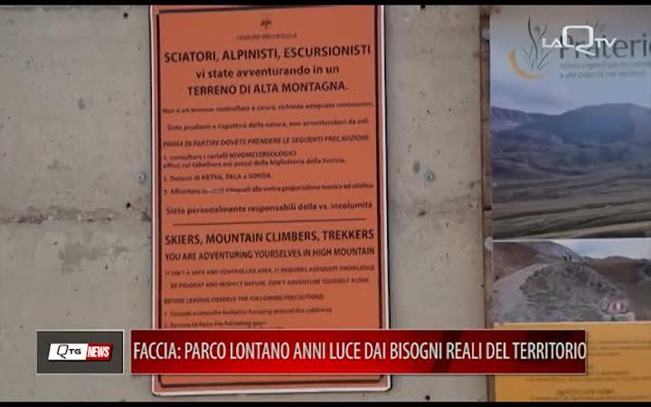 SAVEGRANSASSO, FACCIA: PARCO LONTANO ANNI LUCE DAI BISOGNI REALI DEL TERRITORIO