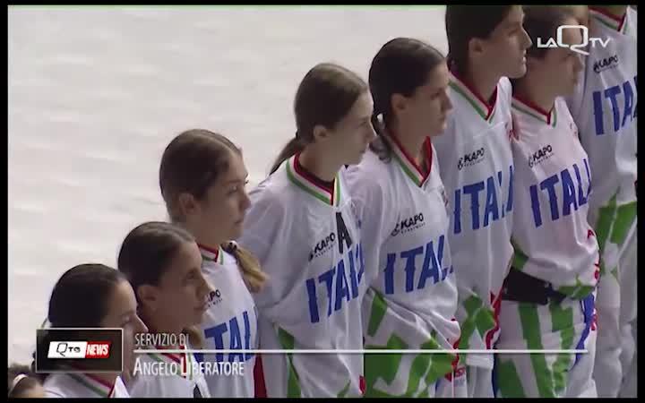 MONDIALI HOCKEY INLINE: L'ITALIA FEMMINILE AI QUARTI