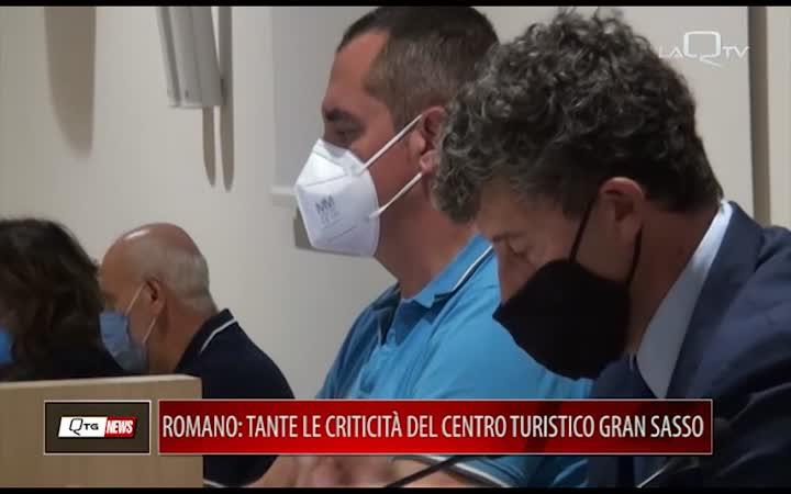 ROMANO (IV): TANTE CRITICITÀ DEL CENTRO TURISTICO DEL GRAN SASSO